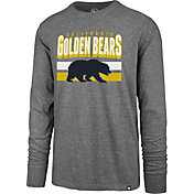 '47 Men's Cal Golden Bears Grey Club Long Sleeve T-Shirt