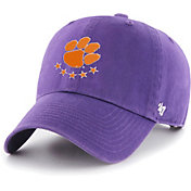 '47 Men's Clemson Tigers Regalia Clean Up Adjustable Hat