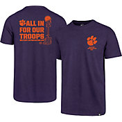 '47 Men's Clemson Tigers Regalia Military Appreciation Club T-Shirt