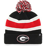 '47 Men's Georgia Bulldogs Cuffed Knit Black Beanie