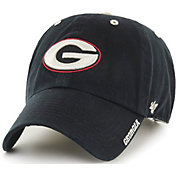 '47 Men's Georgia Bulldogs Ice Clean Up Adjustable Black Hat
