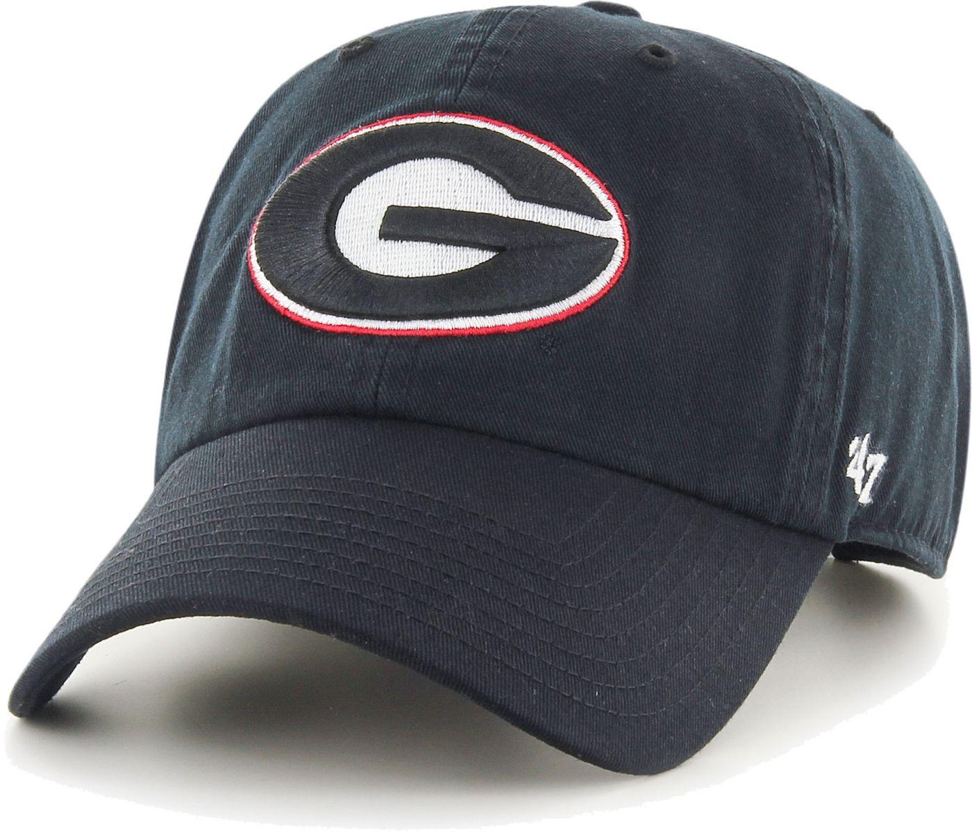 '47 Men's Georgia Bulldogs Clean Up Adjustable Black Hat