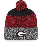 '47 Men's Georgia Bulldogs Cuffed Knit Black/Red Beanie