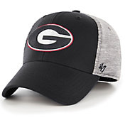 '47 Men's Georgia Bulldogs Contender Fitted Black/Grey Hat