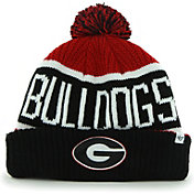 '47 Men's Georgia Bulldogs Red/Black Calgary Cuffed Knit Hat