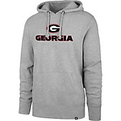 '47 Men's Georgia Bulldogs Grey Club Pullover Hoodie