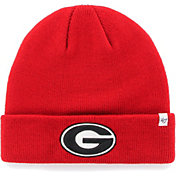 '47 Men's Georgia Bulldogs Red Cuffed Knit Beanie