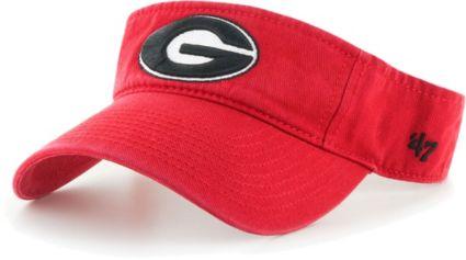 low priced e866f 49904  47 Men s Georgia Bulldogs Red Clean Up Adjustable Visor. noImageFound