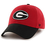 '47 Men's Georgia Bulldogs Red/Black Clean Up Adjustable Hat