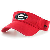 '47 Men's Georgia Bulldogs Red Clean Up Adjustable Visor