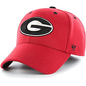 '47 Men's Georgia Bulldogs Red Contender Fitted Hat
