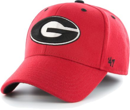 8903b4445105fe '47 Men's Georgia Bulldogs Red Contender Fitted Hat. '