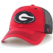 '47 Men's Georgia Bulldogs Red/Black Taylor Flexfit Hat
