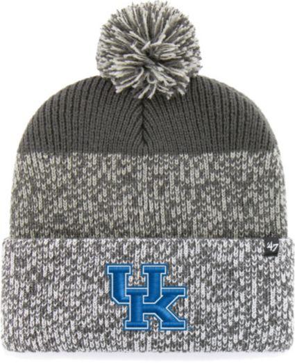 meet 19fca 82ee6 ... uk 47 mens kentucky wildcats grey static cuffed knit hat 8da7e c276d ...