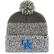 '47 Men's Kentucky Wildcats Grey Static Cuffed Knit Hat