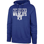 '47 Men's Kentucky Wildcats Blue Headline Pullover Hoodie