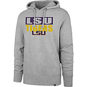 '47 Men's LSU Tigers Grey Headline Pullover Hoodie