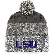 '47 Men's LSU Tigers Grey Static Cuffed Knit Hat