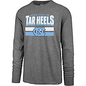 '47 Men's North Carolina Tar Heels Grey Club Long Sleeve T-Shirt