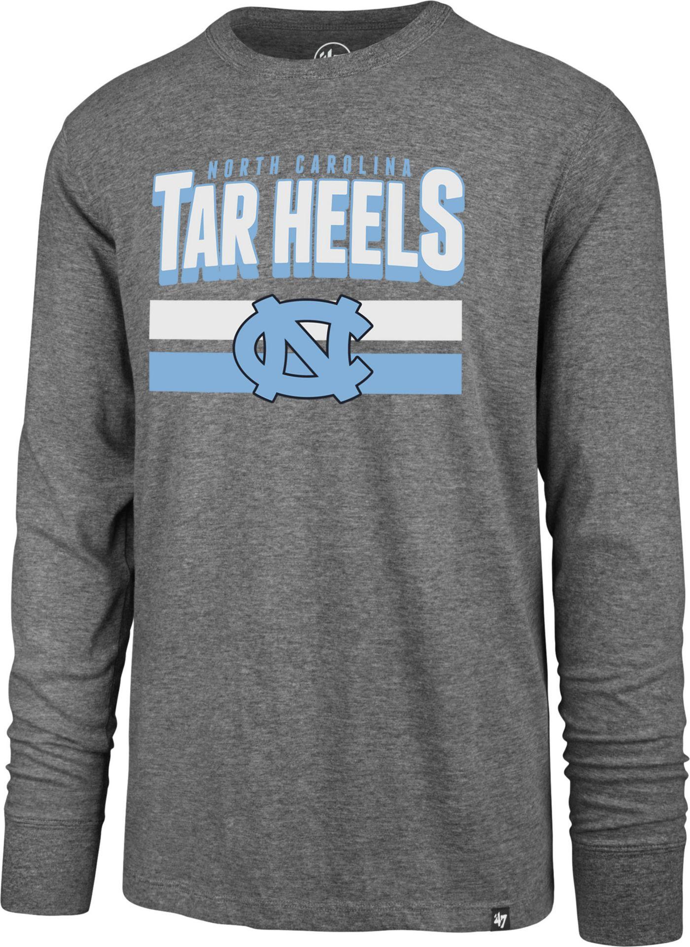 '47 Men's North Carolina Tar Heels Grey Club Long Sleeve T-Shirt