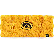 '47 Women's Iowa Hawkeyes Gold Penelope Knit Headband