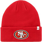 '47 Men's San Francisco 49ers Basic Red Cuffed Knit Beanie