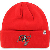 '47 Men's Tampa Bay Buccaneers Basic Red Cuffed Knit Beanie