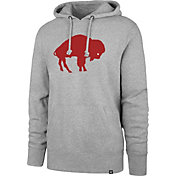 '47 Men's Buffalo Bills Legacy Headline Grey Hoodie