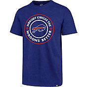 '47 Men's Buffalo Bills Wagon Wheel Royal T-Shirt
