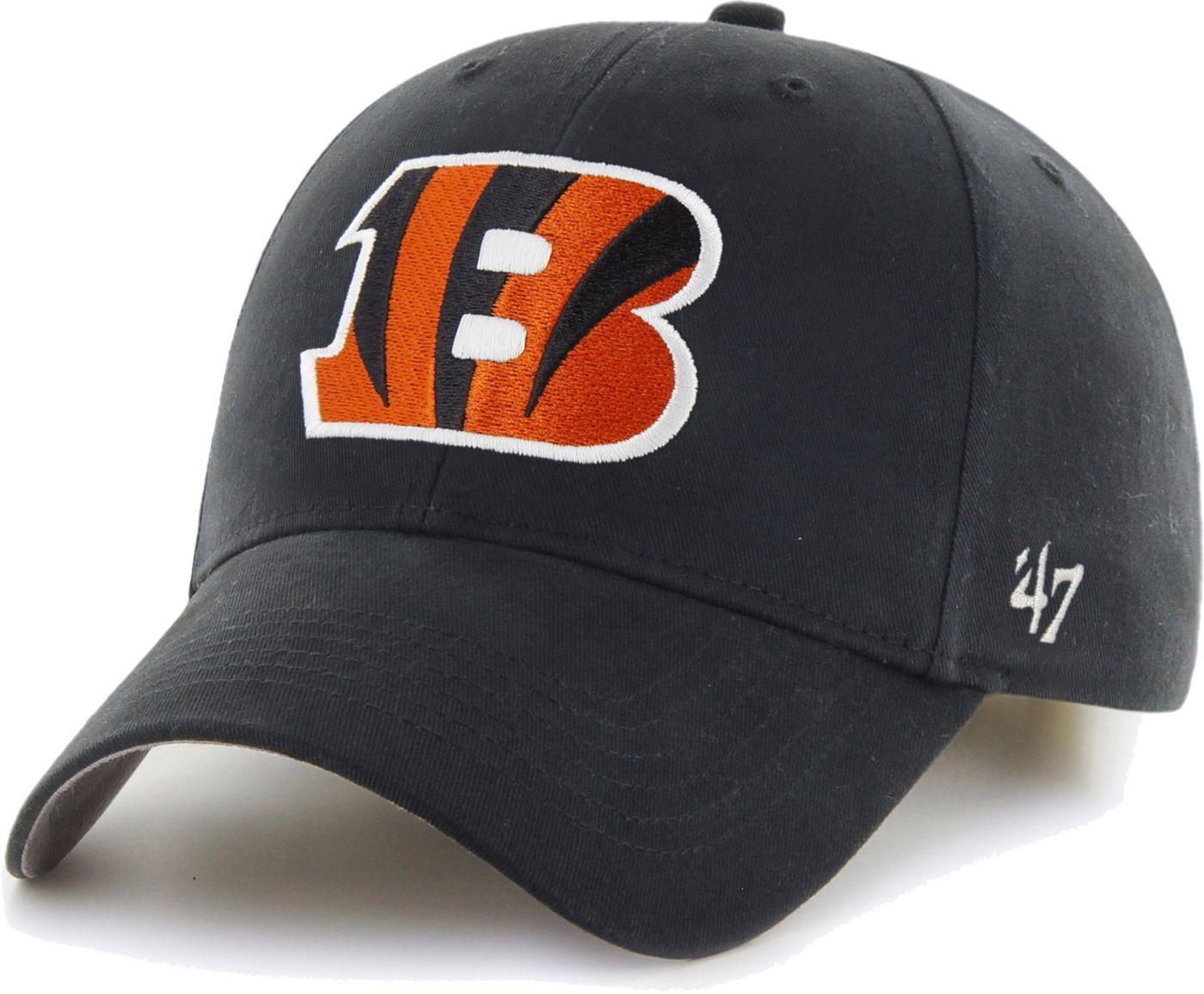 '47 Boys' Cincinnati Bengals Basic MVP Kid Black Hat