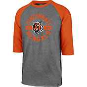 '47 Men's Cincinnati Bengals Club Grey Raglan Shirt