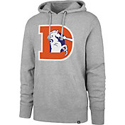 '47 Men's Denver Broncos Legacy Headline Grey Hoodie