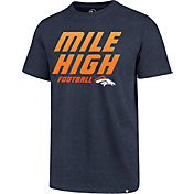 '47 Men's Denver Broncos Mile High Navy T-Shirt