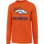 '47 Men's Denver Broncos Rival Orange Long Sleeve Shirt