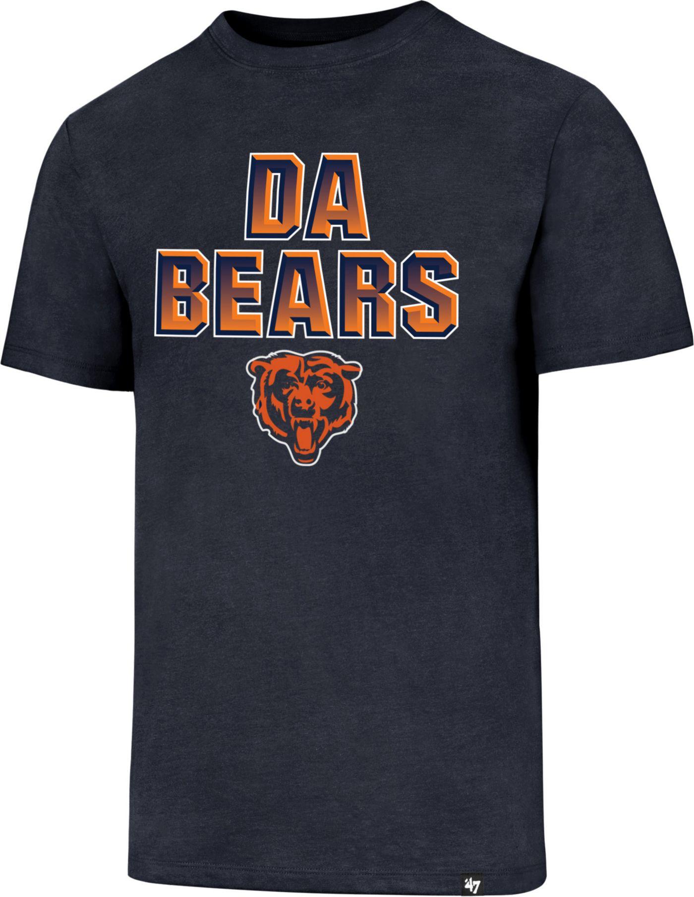 '47 Men's Chicago Bears Da Bears Navy T-Shirt