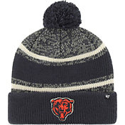 '47 Men's Chicago Bears Fairfax Navy Cuffed Pom Knit