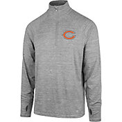'47 Men's Chicago Bears Forward Grey Quarter-Zip Pullover