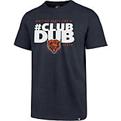 '47 Men's Chicago Bears Club Dub Navy T-Shirt