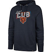 '47 Men's Chicago Bears Club Dub Navy Hoodie