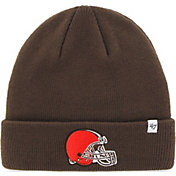 '47 Men's Cleveland Browns Basic Brown Cuffed Knit Beanie