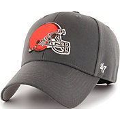 '47 Men's Cleveland Browns MVP Charcoal Adjustable Hat