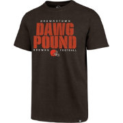 47 Men s Cleveland Browns Dawg Pound Club Brown T-Shirt.   f0744743d