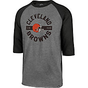 '47 Men's Cleveland Browns Club Grey Raglan Shirt