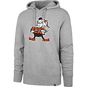 '47 Men's Cleveland Browns Legacy Headline Grey Hoodie