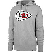 '47 Men's Kansas City Chiefs Headline Grey Hoodie
