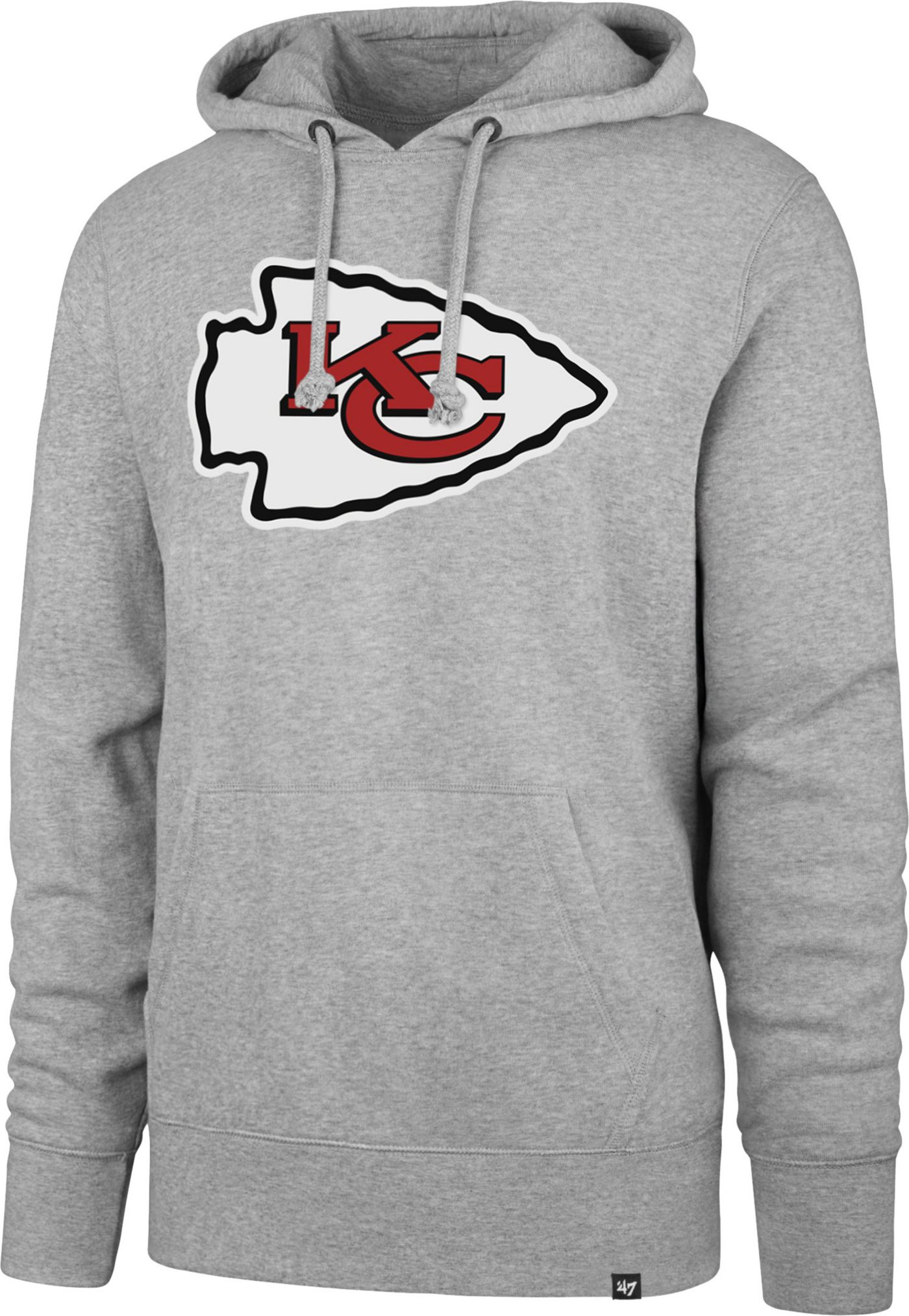 '47 Men's Kansas City Chiefs Headline Grey Hoodie