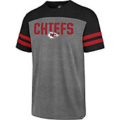 '47 Men's Kansas City Chiefs Versus Club Grey T-Shirt