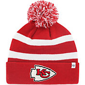 '47 Men's Kansas City Chiefs Breakaway Cuffed Red Knit