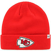 '47 Men's Kansas City Chiefs Basic Red Cuffed Knit Beanie