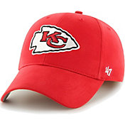 '47 Boys' Kansas City Chiefs Basic MVP Kid Red Hat